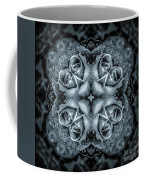Noir Four Roses Symmetrical Focus Coffee Mug