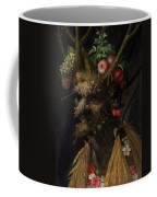 Four Seasons In One Head Coffee Mug