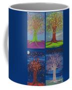 Four Seasons Trees By Jrr Coffee Mug