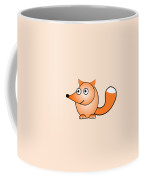 Fox - Animals - Art For Kids Coffee Mug