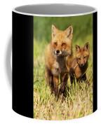 Fox Family Coffee Mug