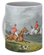Fox Hunting - Full Cry Coffee Mug
