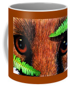 Fox In Hiding Coffee Mug