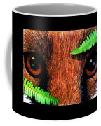 Fox In Hiding Coffee Mug