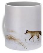 Fox In Snow Coffee Mug