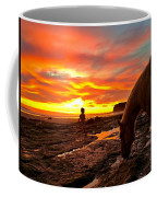 Fox In The Tidepools Coffee Mug