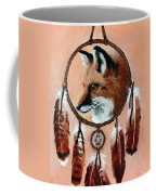 Fox Medicine Wheel Coffee Mug by Brandy Woods