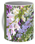Foxglove Card Coffee Mug