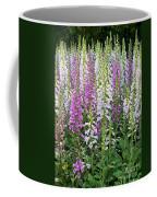 Foxglove Garden - Digital Art Coffee Mug
