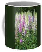 Foxglove Garden - Vertical Coffee Mug