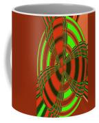 Foxglove In Arizona Abstract #2 Coffee Mug