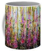 Foxgloves Large Painting Coffee Mug