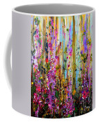 Foxgloves Panel One Coffee Mug