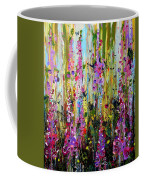 Foxgloves Panel Two Coffee Mug