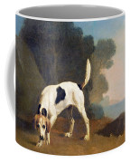 Foxhound On The Scent Coffee Mug by George Stubbs