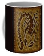 Fractal Abstract Scorpion Coffee Mug