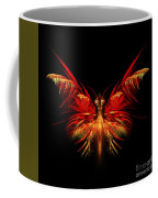 Fractal Butterfly Coffee Mug