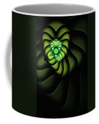 Fractal Cobra Coffee Mug by John Edwards
