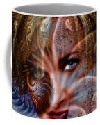 Fractal Eyes Coffee Mug