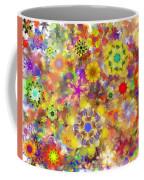 Fractal Floral Study 2 Coffee Mug