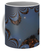 Fractal Moon Coffee Mug