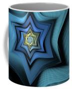 Fractal Star Coffee Mug by John Edwards