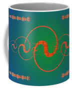 Fractal Yin And Yang Coffee Mug