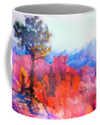 Fractured Landscape Coffee Mug