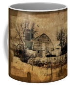 Fragmented Barn  Coffee Mug by Julie Hamilton
