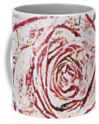 Fragmented Rose Hot Pink Coffee Mug