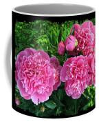 Fragrant Pink Peonies Coffee Mug