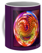 Framed Glass Spiral Coffee Mug