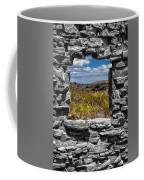 Framed In Black And White Coffee Mug