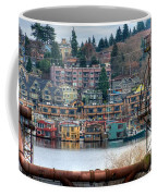 Framed In Seattle Coffee Mug by Spencer McDonald