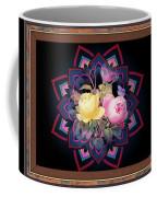 Framed Rose Bouquet Montage Coffee Mug