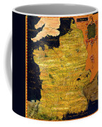 France Map Coffee Mug