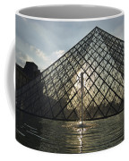 France, Paris The Louvre Museum Coffee Mug