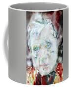 Francis Bacon - Watercolor Portrait.2 Coffee Mug