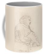 Francis Grose Asleep In A Chair Coffee Mug