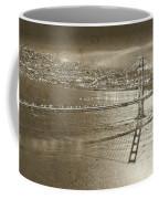 Francisco Sky Line Vintage  Coffee Mug