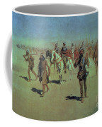 Francisco Vasquez De Coronado Making His Way Across New Mexico Coffee Mug