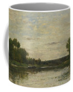Francois Daubigny   View On The Oise Coffee Mug