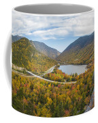 Franconia Notch Autumn View Coffee Mug