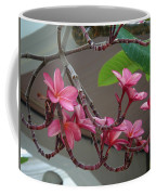Frangipani Flowers Coffee Mug
