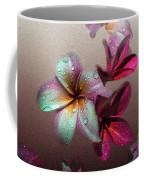 Frangipani With Overlay Coffee Mug