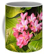 Frangipanis In Bloom Coffee Mug