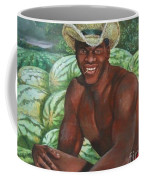 Frank The Watermelon Man Coffee Mug