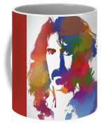Frank Zappa Watercolor Coffee Mug