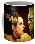 Frankenstein And The Bride I Have Love In Me The Likes Of Which You Can Scarcely Imagine 20170407 Coffee Mug