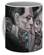 Frankenstein And Wife  Coffee Mug